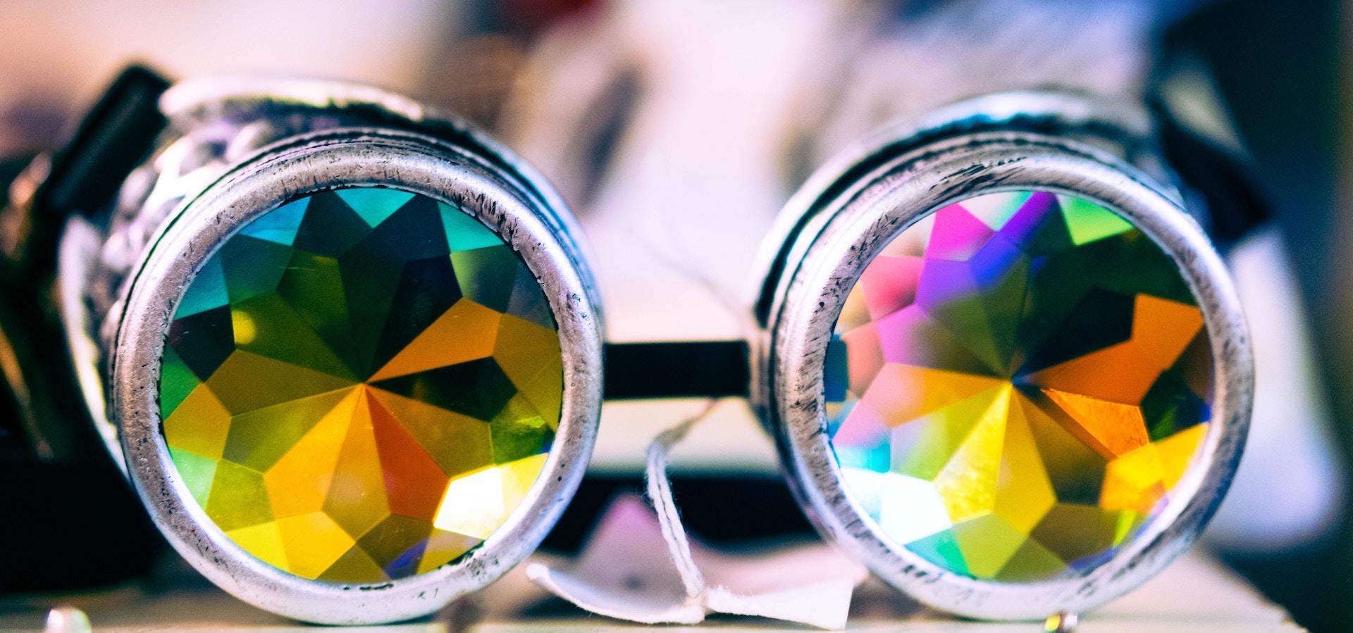 Kaleidoskop-Augen
