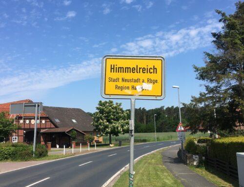 Segensgrüßle aus dem Himmelreich :-)